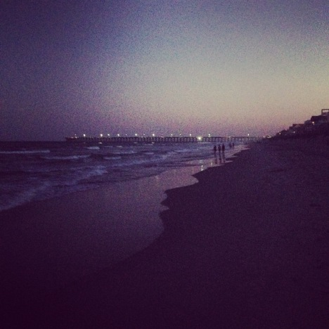 Night Beach Walk